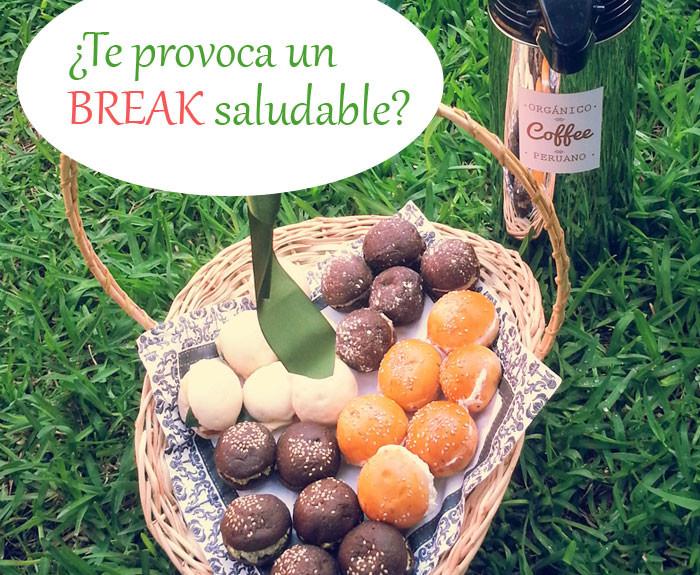 SANAmakina Break saludable